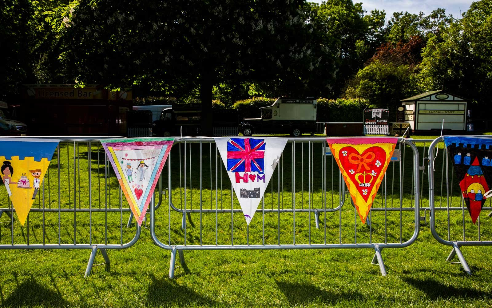 Photos from Windsor on Royal Wedding Day