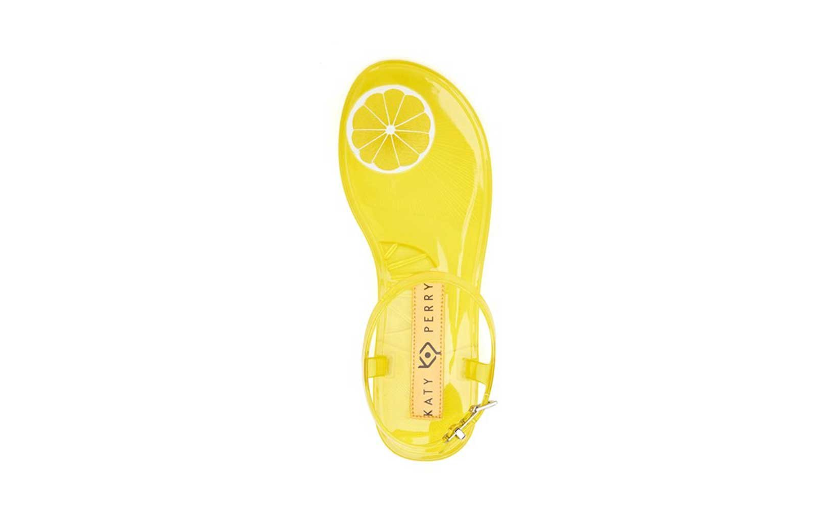 Katy Perry Lemon Scented Jelly Sandals