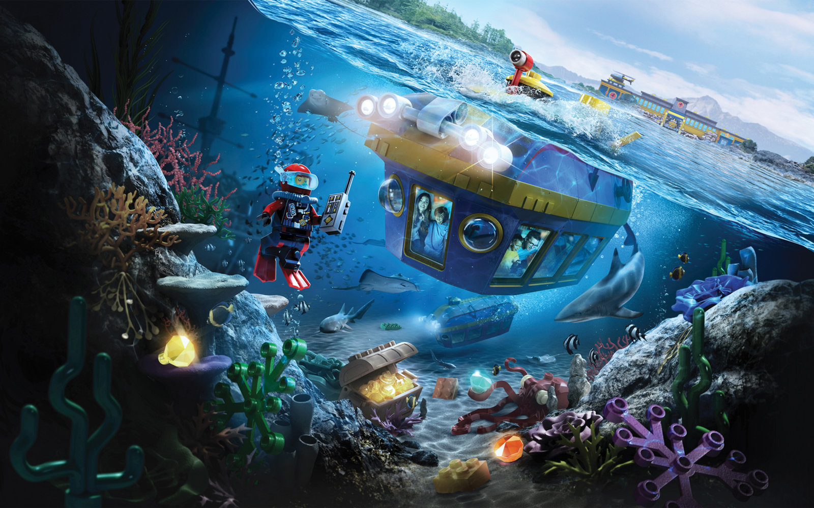 Lego City Deep Sea Adventure — Legoland California Resort