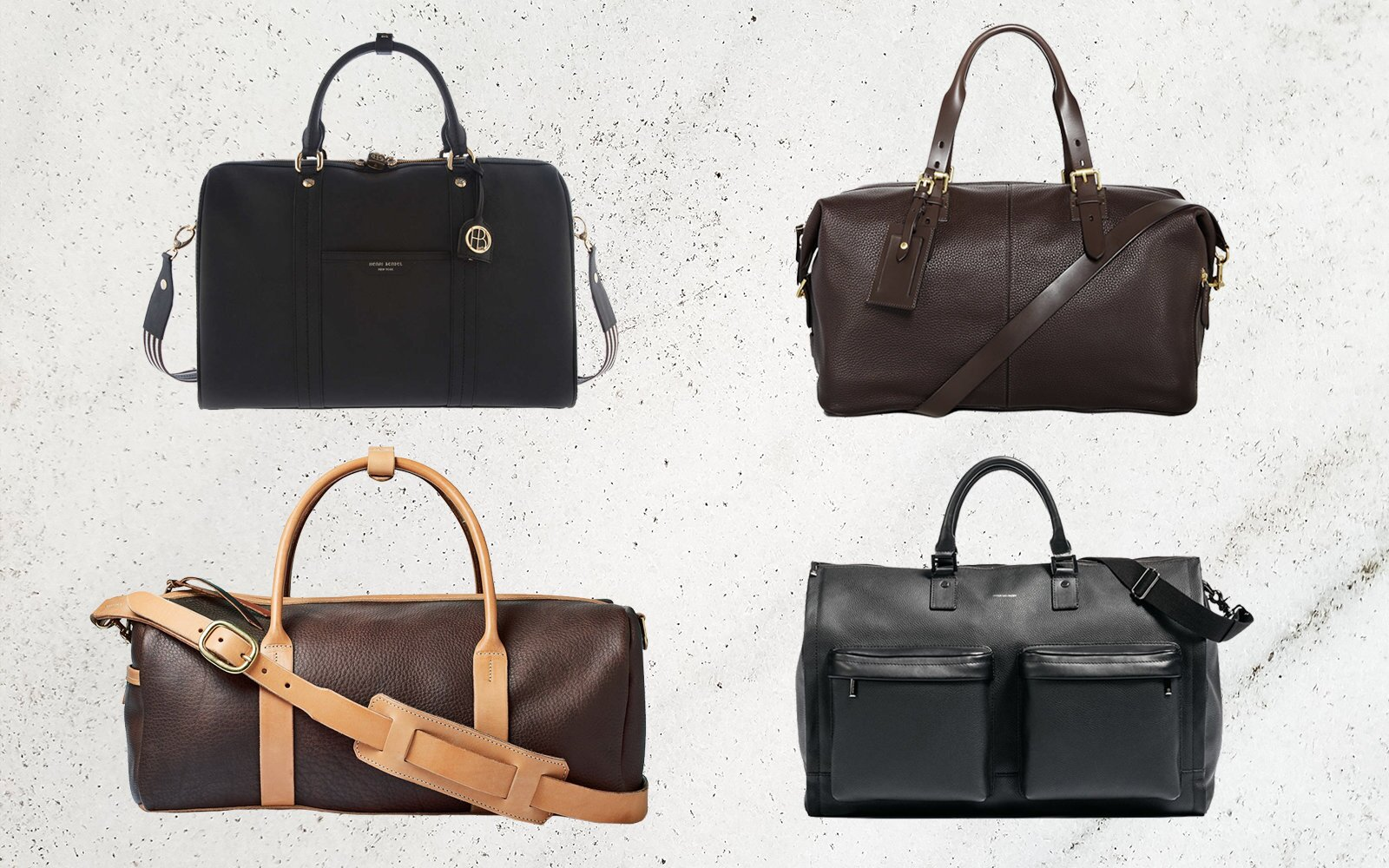 10 Leather Overnight Bags That Will Last You Forever b79dd428a33a2