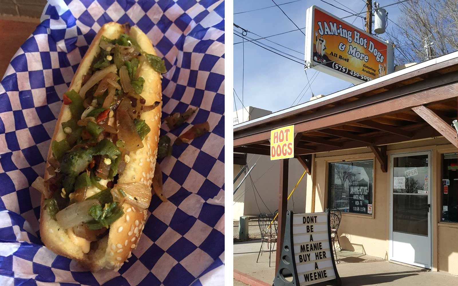 JAM-ing Hot Dogs & More, New Mexico