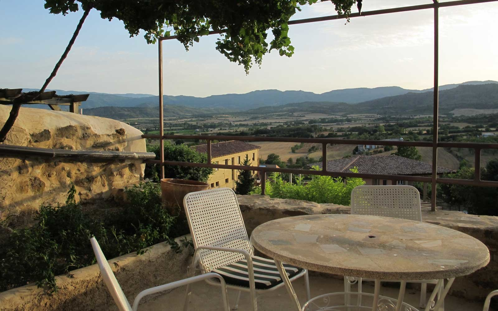 Terrace Views in Catalonia