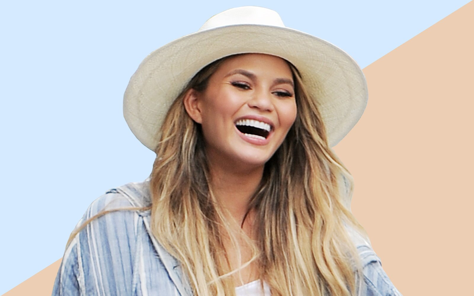 aa7dae7417477 5 Perfect Summer Hats From Chrissy Teigen s Favorite Brand