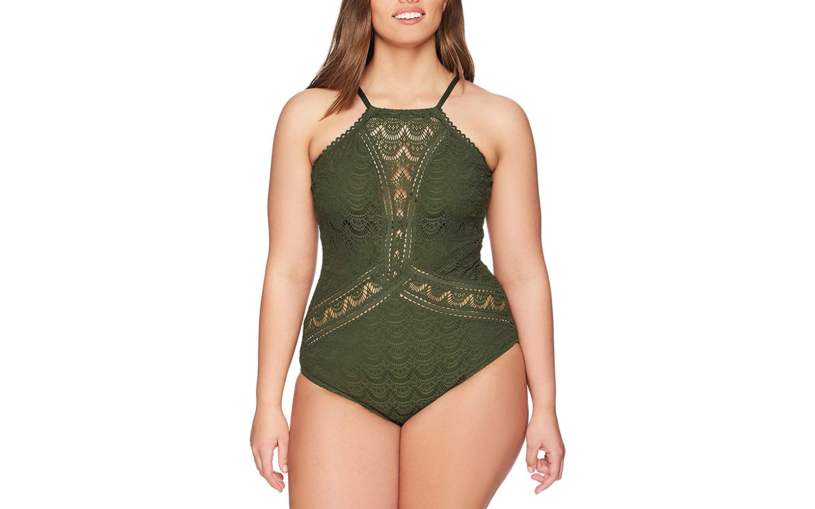 Becca High-neck One-piece Swimsuit
