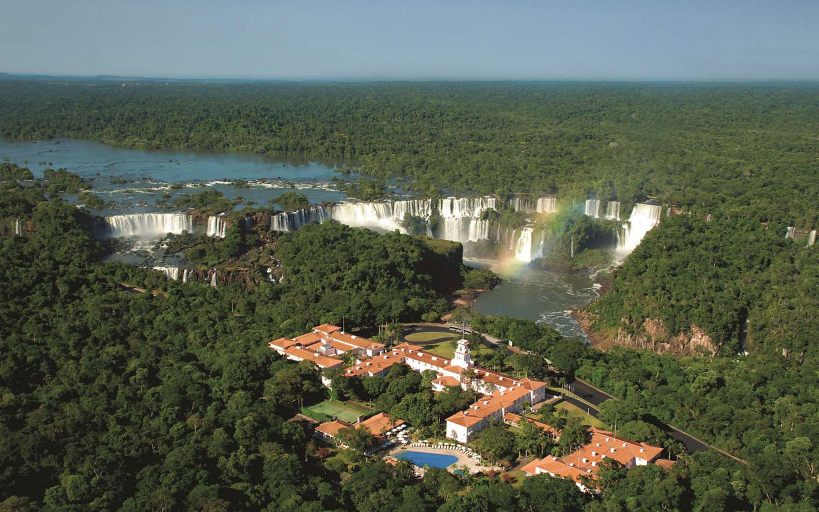 The Belmond Hotel Das Cataracts at the Iguassu Falls in Brazil.