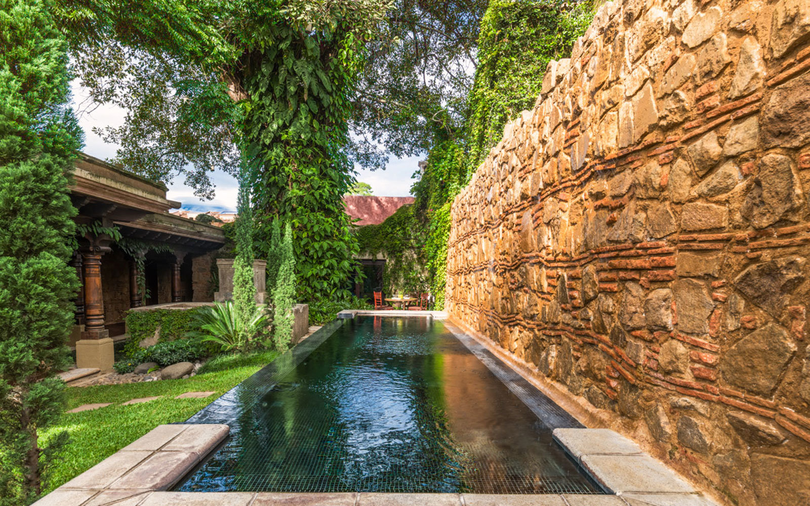 The El Convento Boutique Hotel in Antigua, Guatemala.