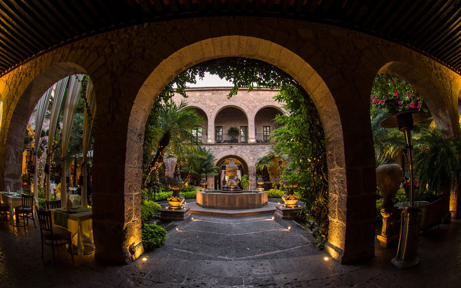The Hotel de la Soledad in Morelia, Mexico.