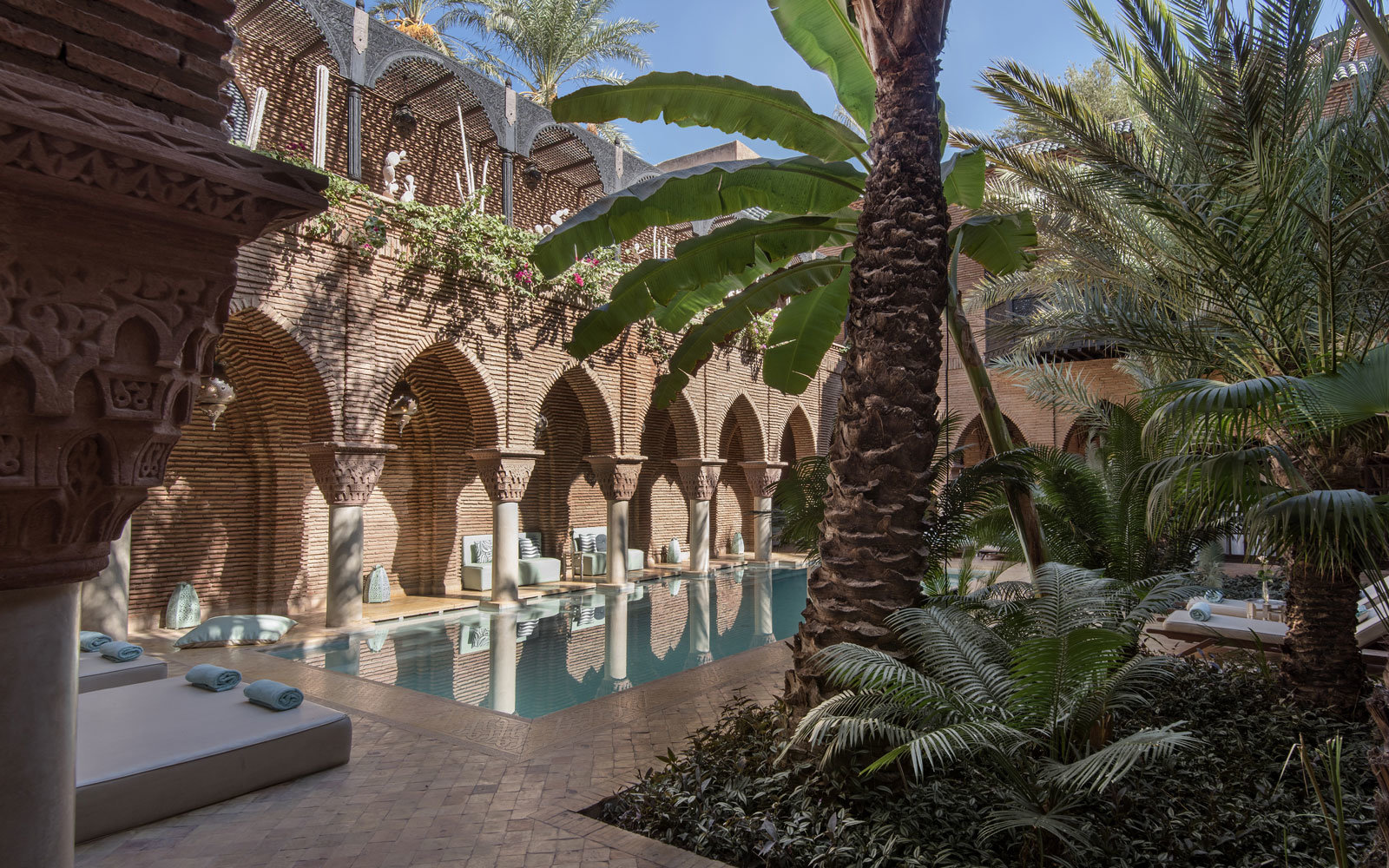 La Sultana Marrakech is a luxury historical hotel in UNESCO listed Medina.