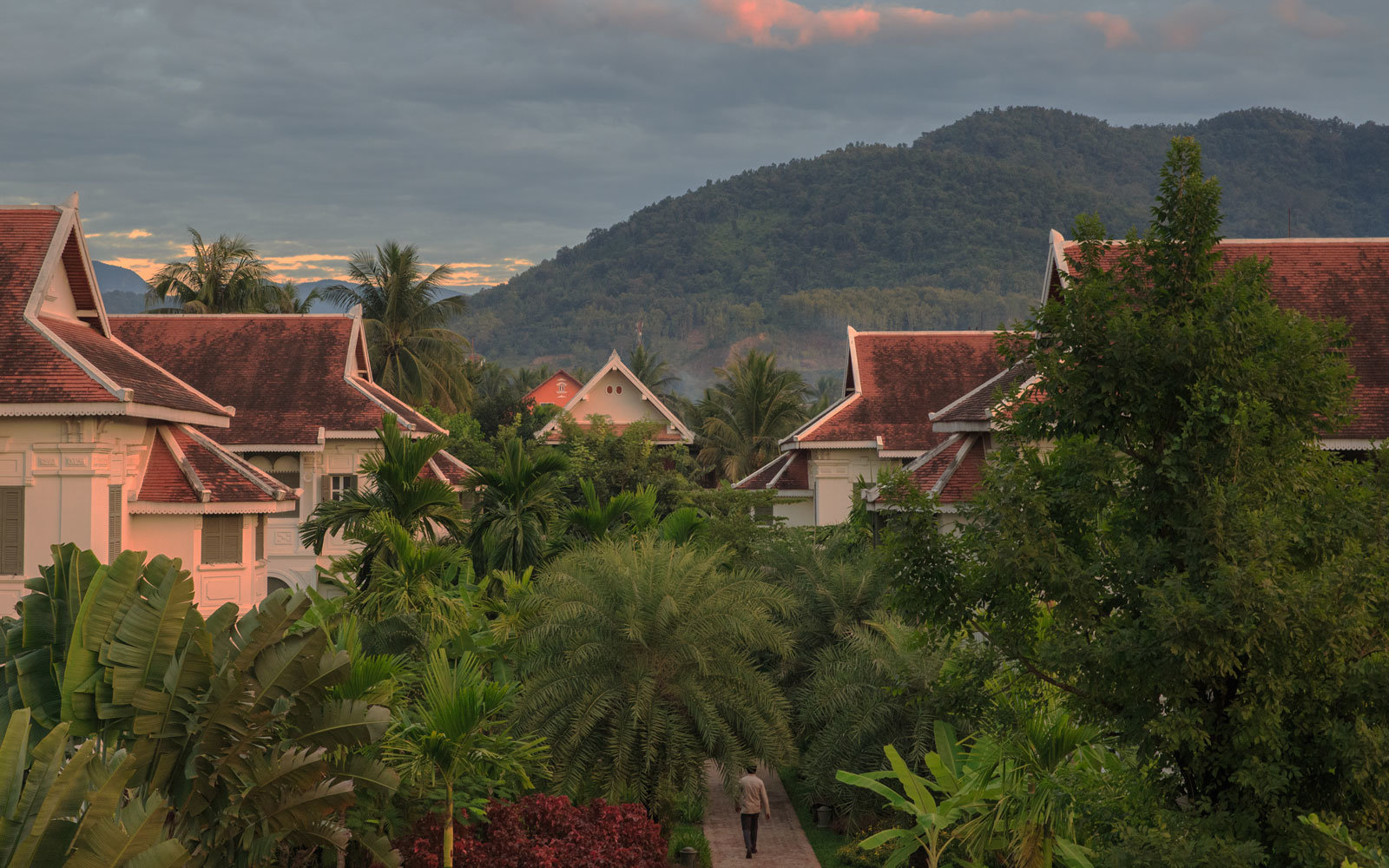 The Luang Say Residence is located in the UNESCO heritage city of Luang Prabang.