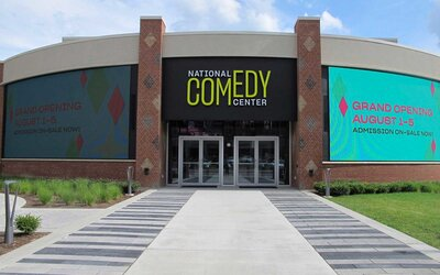 Simple Exhibition Stand Up Comedy : A new comedy museum just opened in lucille balls hometown travel