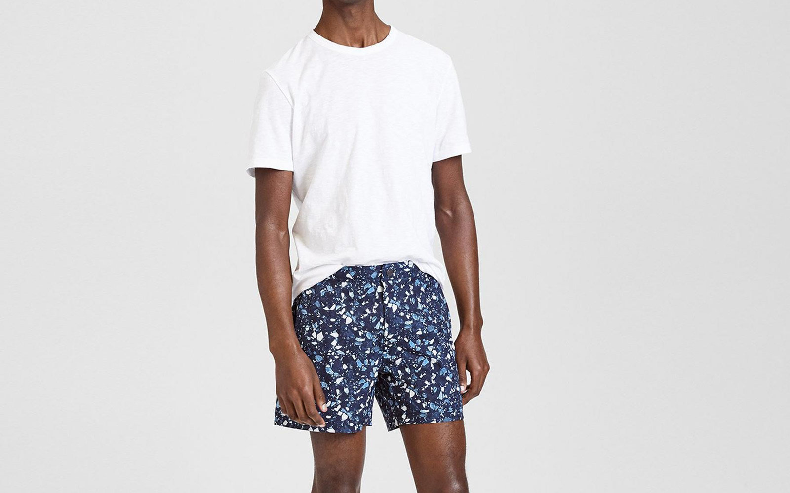 Onia x Theory Swim Shorts