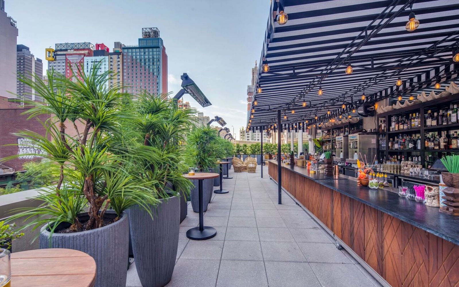 The Polynesian rooftop bar NYC