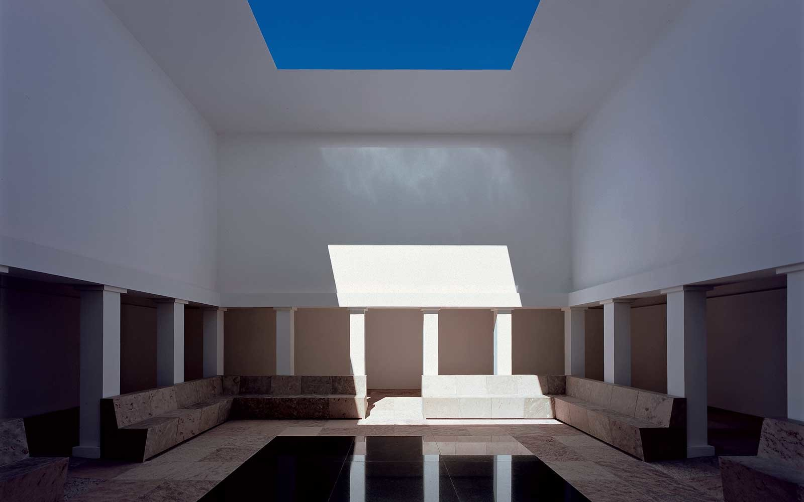 Work by James Turrell at the Hess Estate in Salta, Argentina