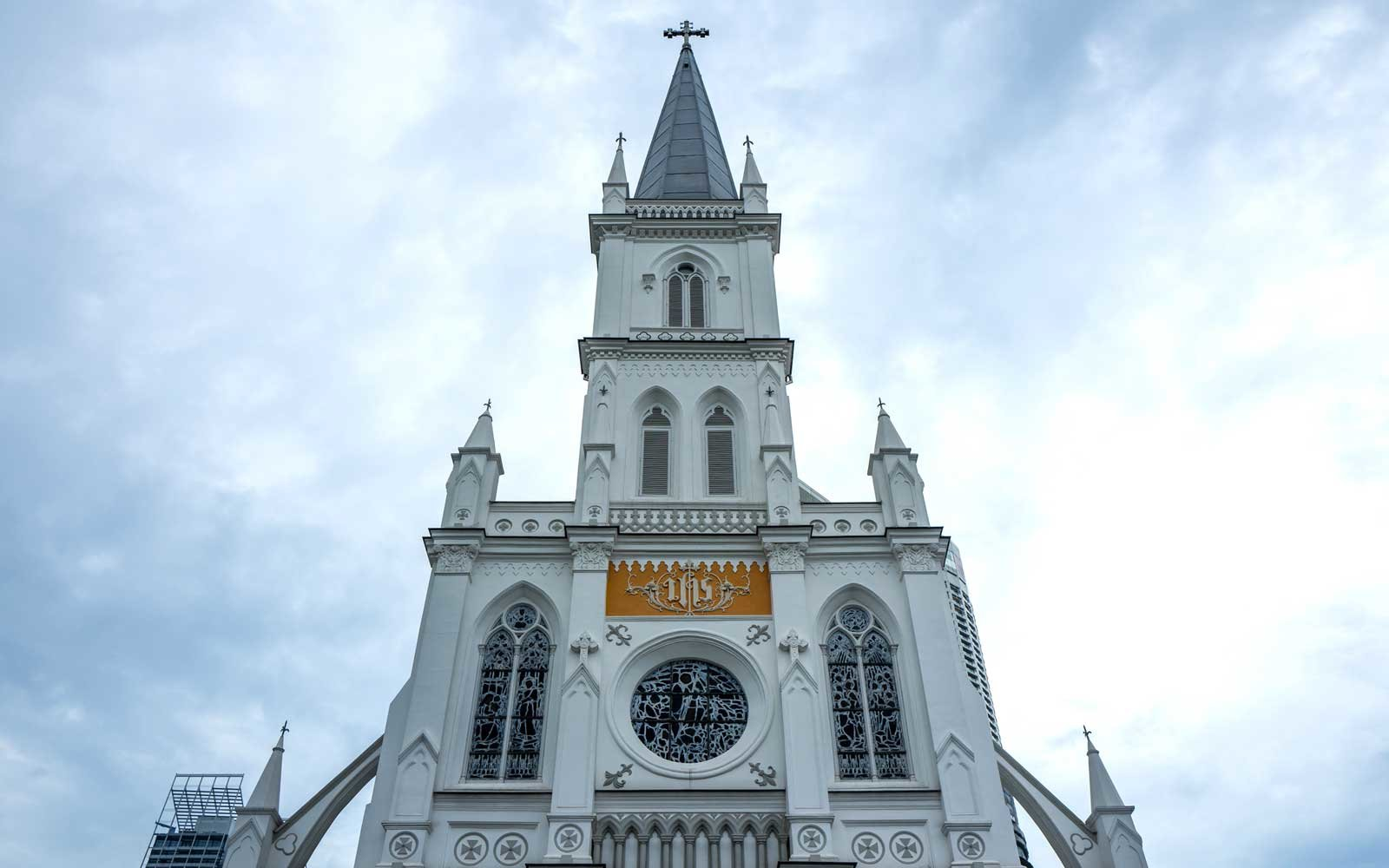 The chijmes building in Singapore