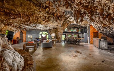 This Luxury Cave House Is Built Into a Mountain — and You