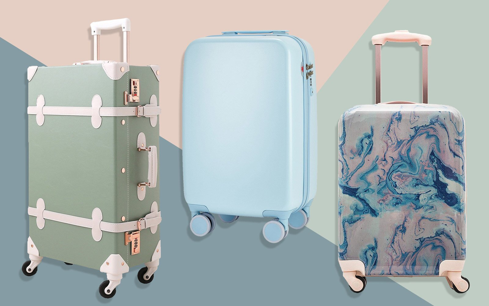 5df1b3c37 15 Cute Suitcases You Won't Believe We Found on Amazon | Travel + ...