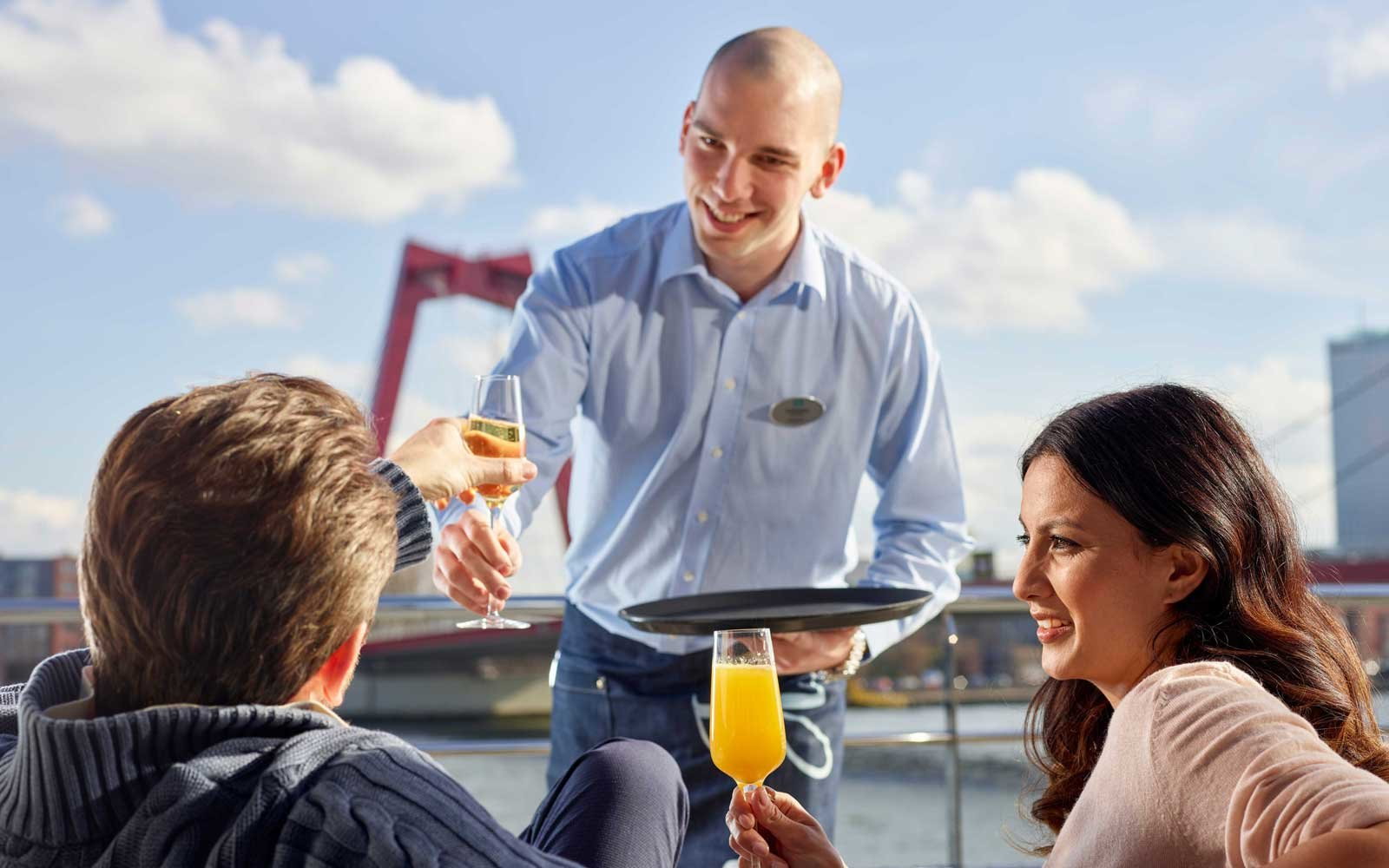 All-inclusive service on board Crystal's Rhine class ships