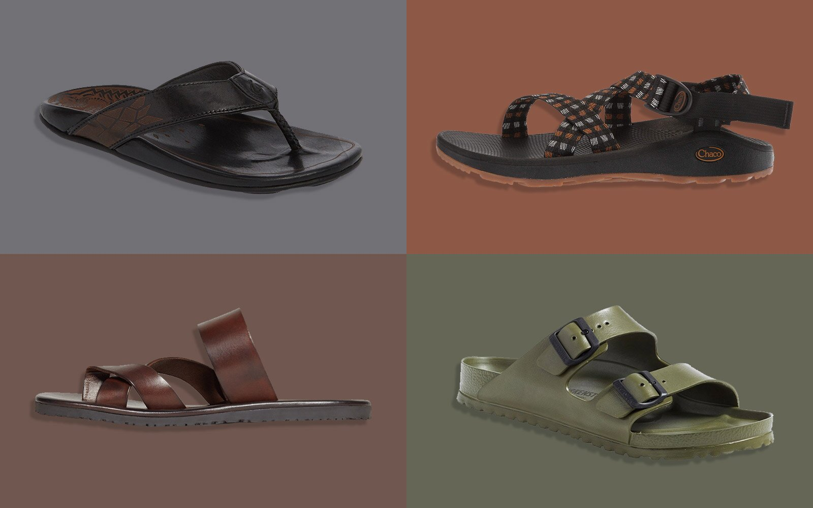 88d421b198 The Best Men's Sandals to Pack for Your Next Vacation | Travel + Leisure