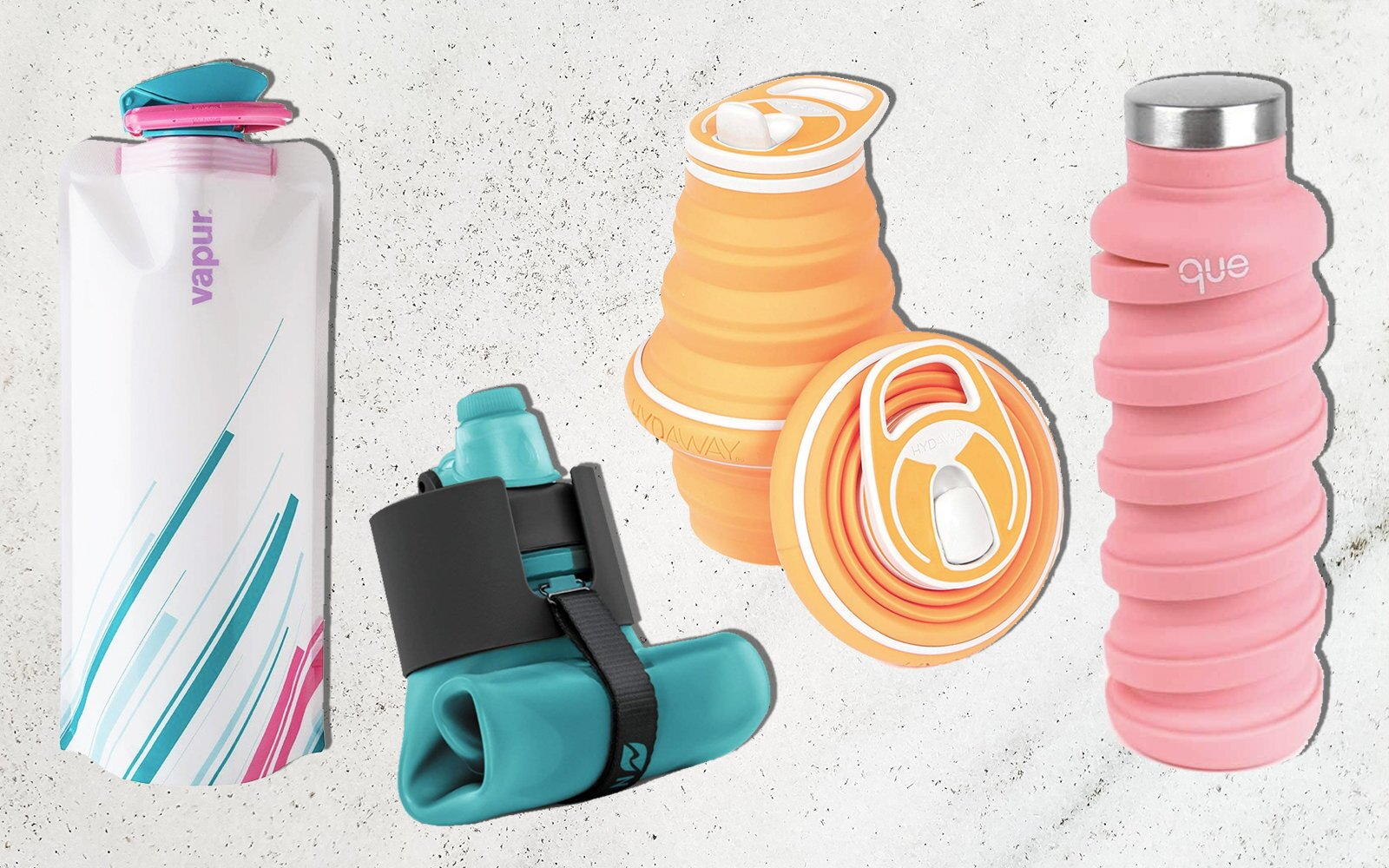 Foldable Water Bottle >> The Best Collapsible Water Bottles Travel Leisure