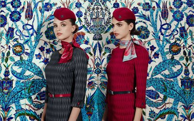 Turkish Airlines' New Uniforms Might Just Make It the Most