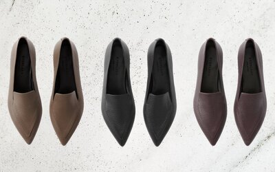 6bb2393f7 Angelina Jolie s Favorite Travel Shoe Just Got a Sleek Update ...