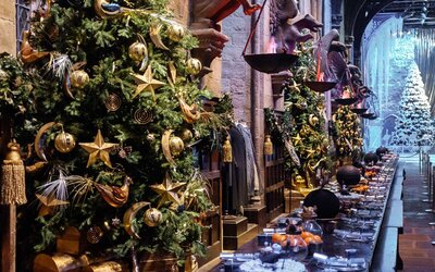 Christmas Harry Potter.Harry Potter Fans Can Enjoy A Magical Christmas Dinner At Hogwarts