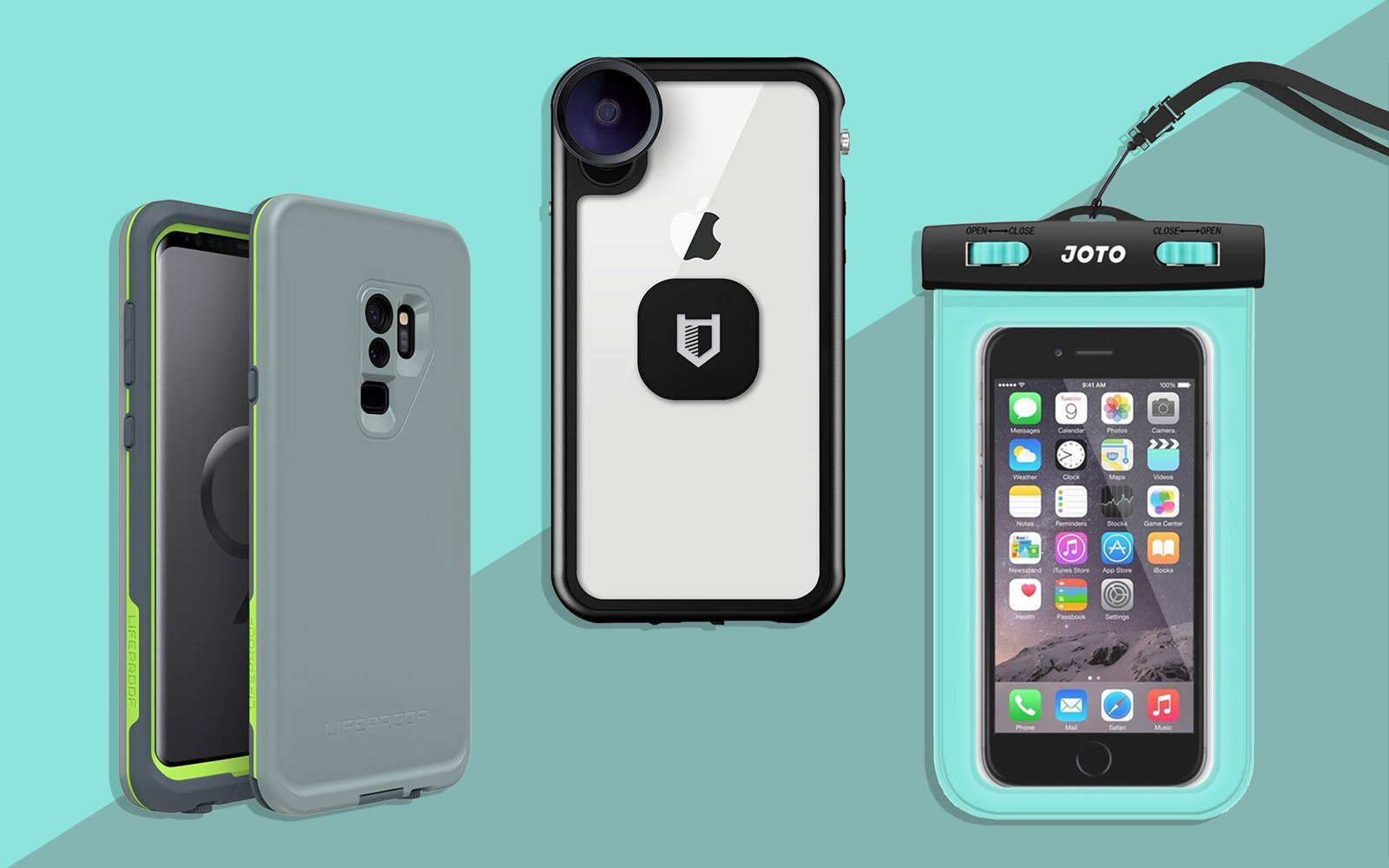 timeless design 3d2b1 9635f The Best Waterproof Phone Cases in 2019 | Travel + Leisure