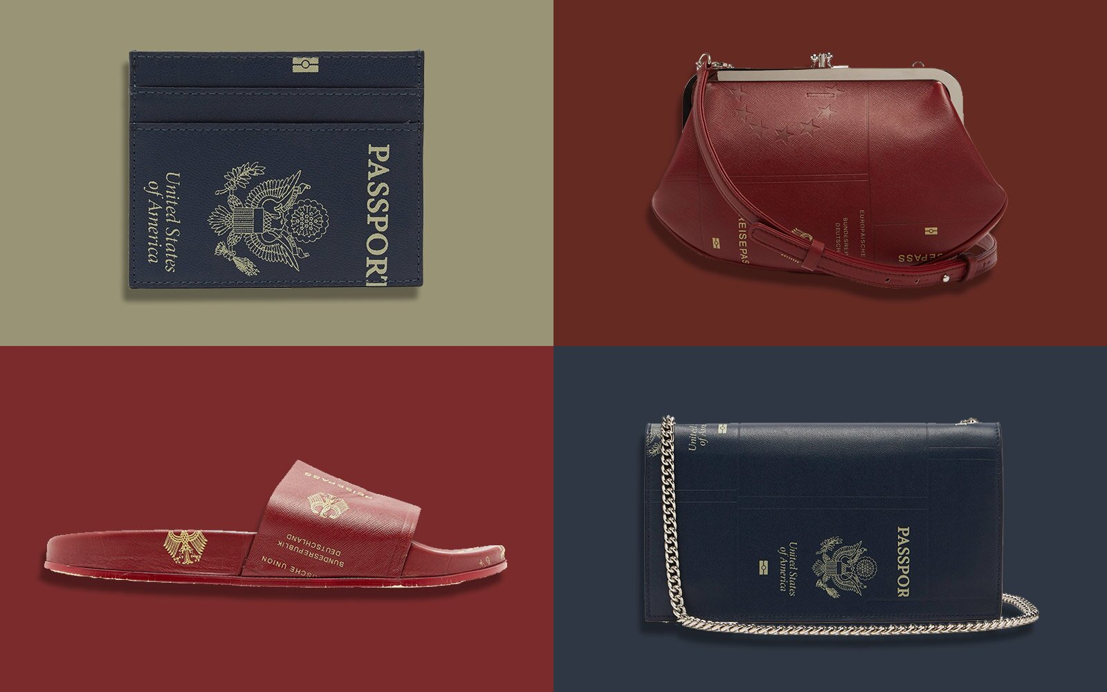 d0d62f18280 These Shoes and Bags Are Made With  Passport  Leather and Yes