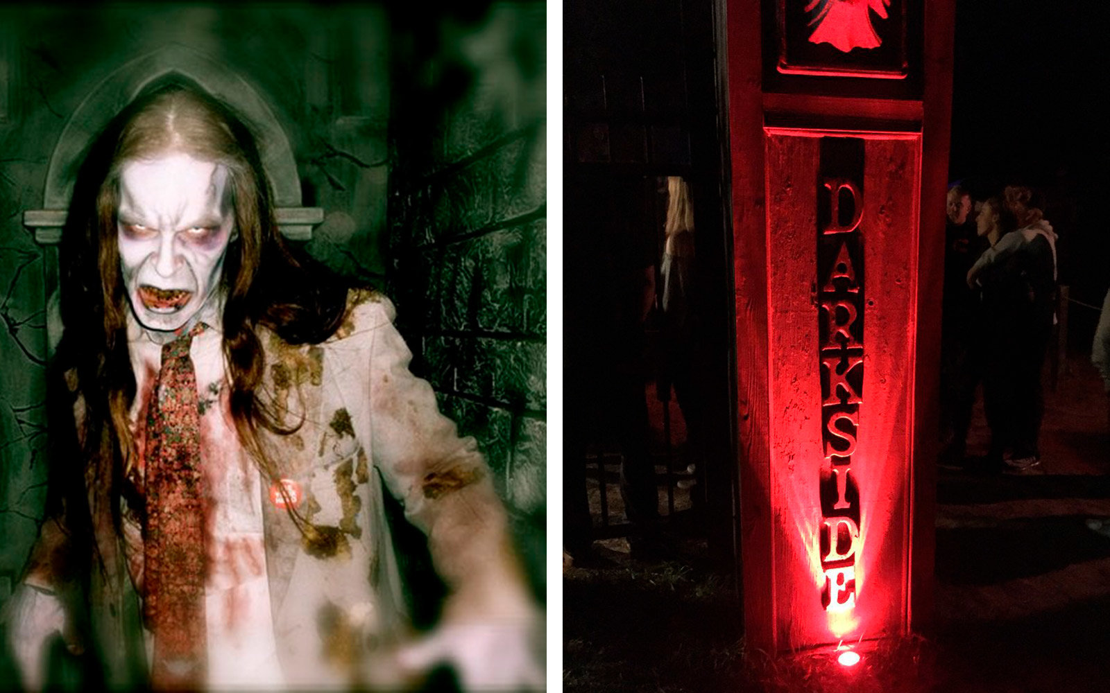 Darkside Haunted House, Wading River, New York