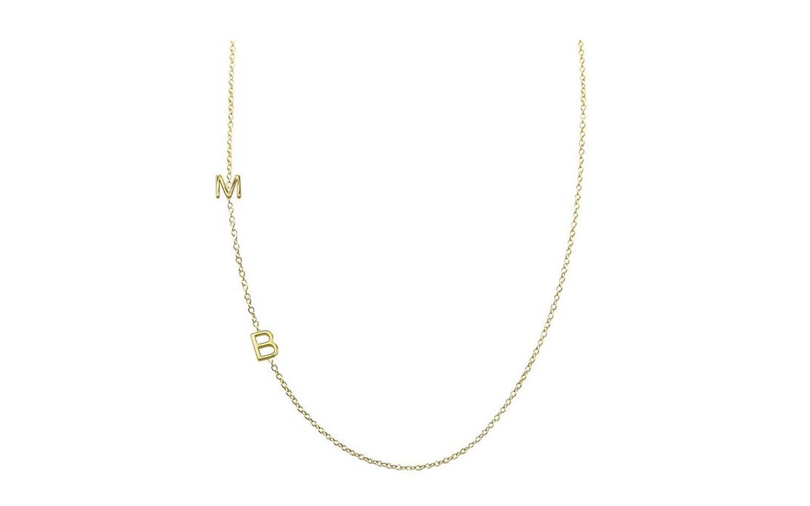 Maya Brenner Asymmetrical Character Necklace