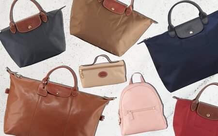 d59338b5b1a2 Longchamp s Best Travel Bags Are Majorly on Sale Right Now