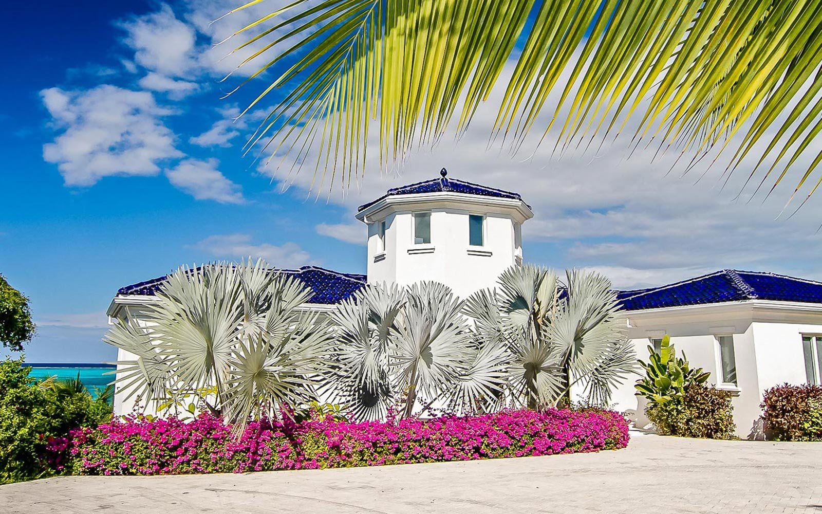 Cobalt Villa luxury villa rental in the Turks and Caicos, available from ThirdHome