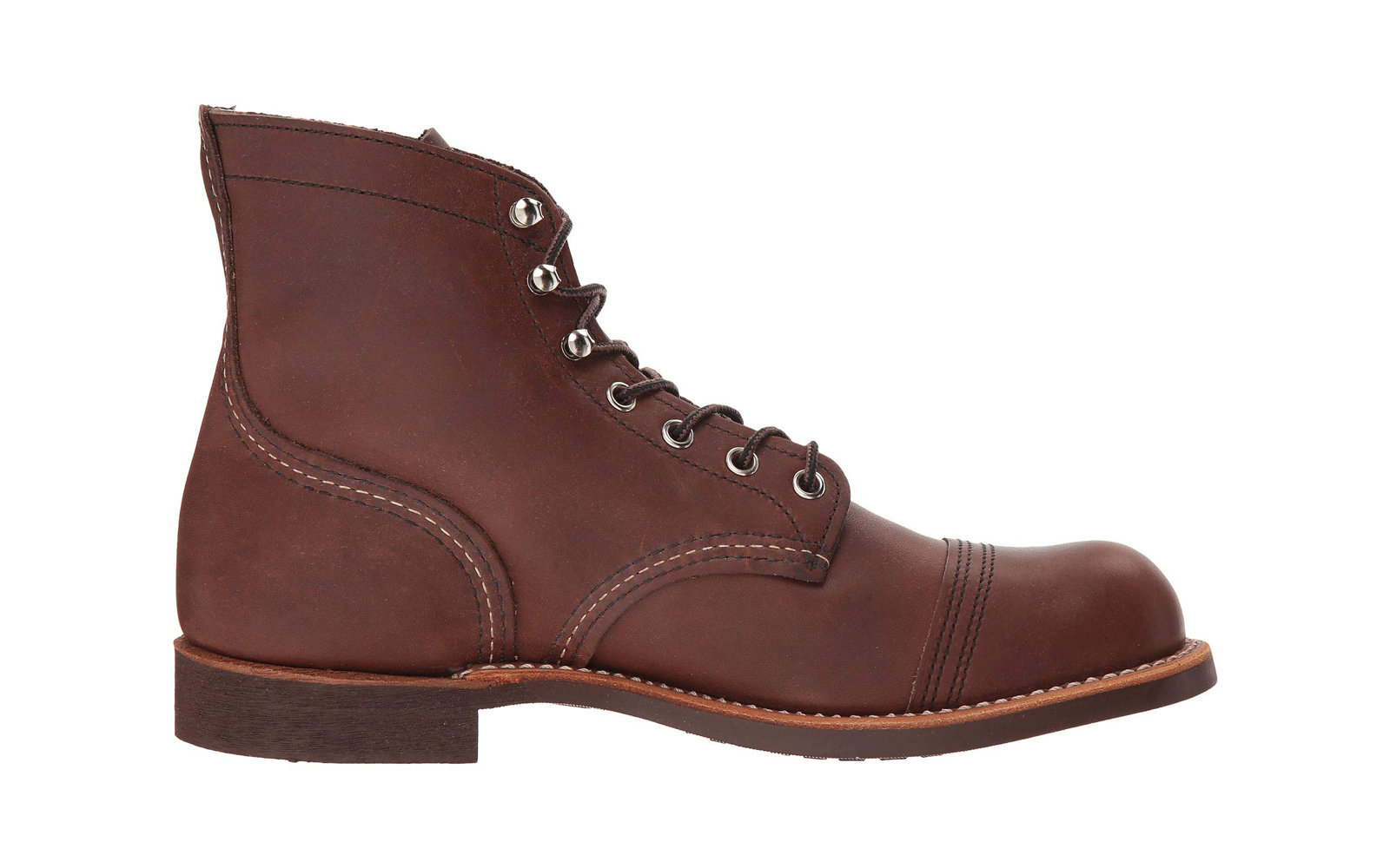 Best Leather Boots: Red Wing Heritage 6  Iron Ranger Lug