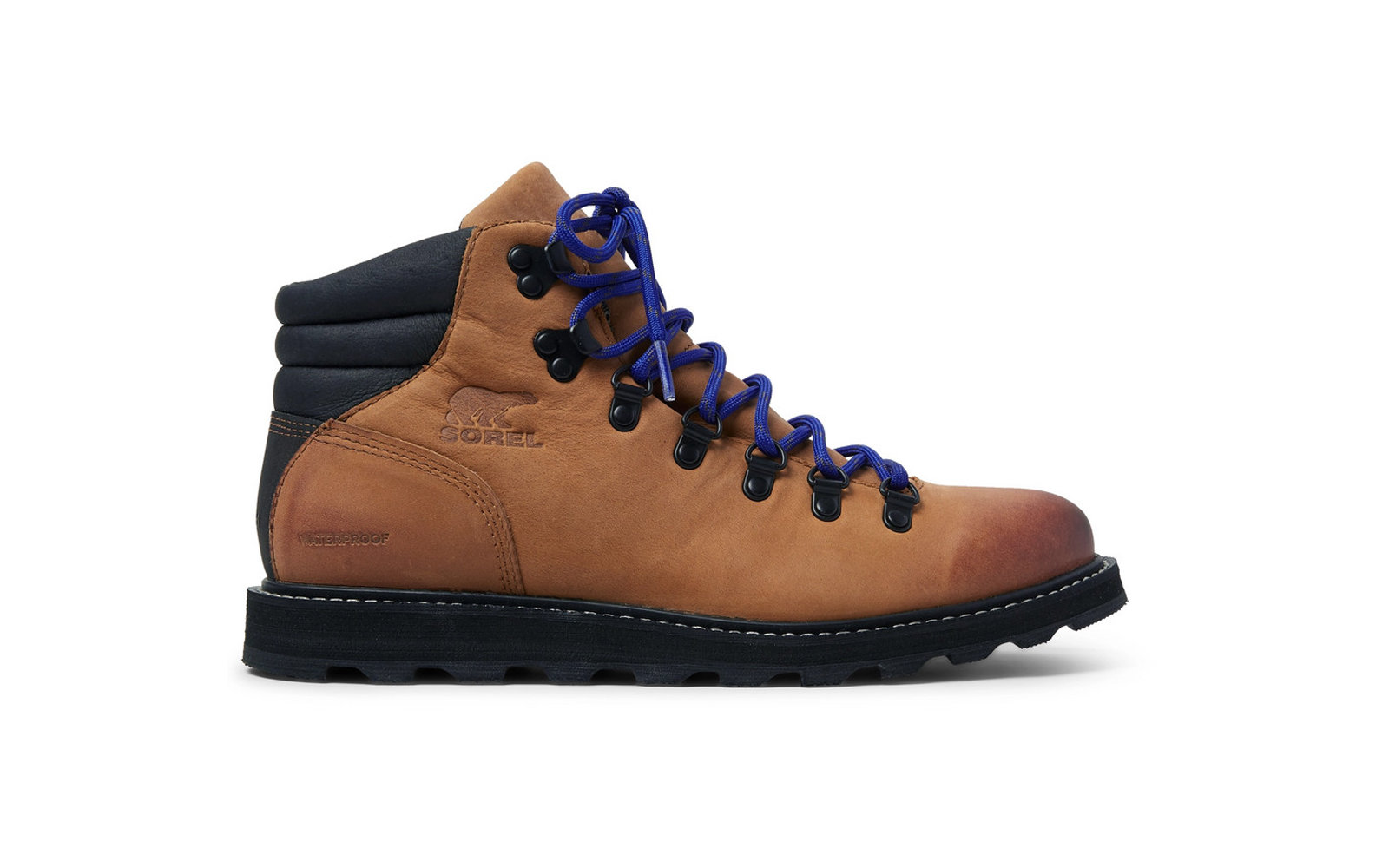 Best Hiking Boots: Sorel Madson Hiker Waterproof Leather And Rubber-Trimmed Nubuck Boots