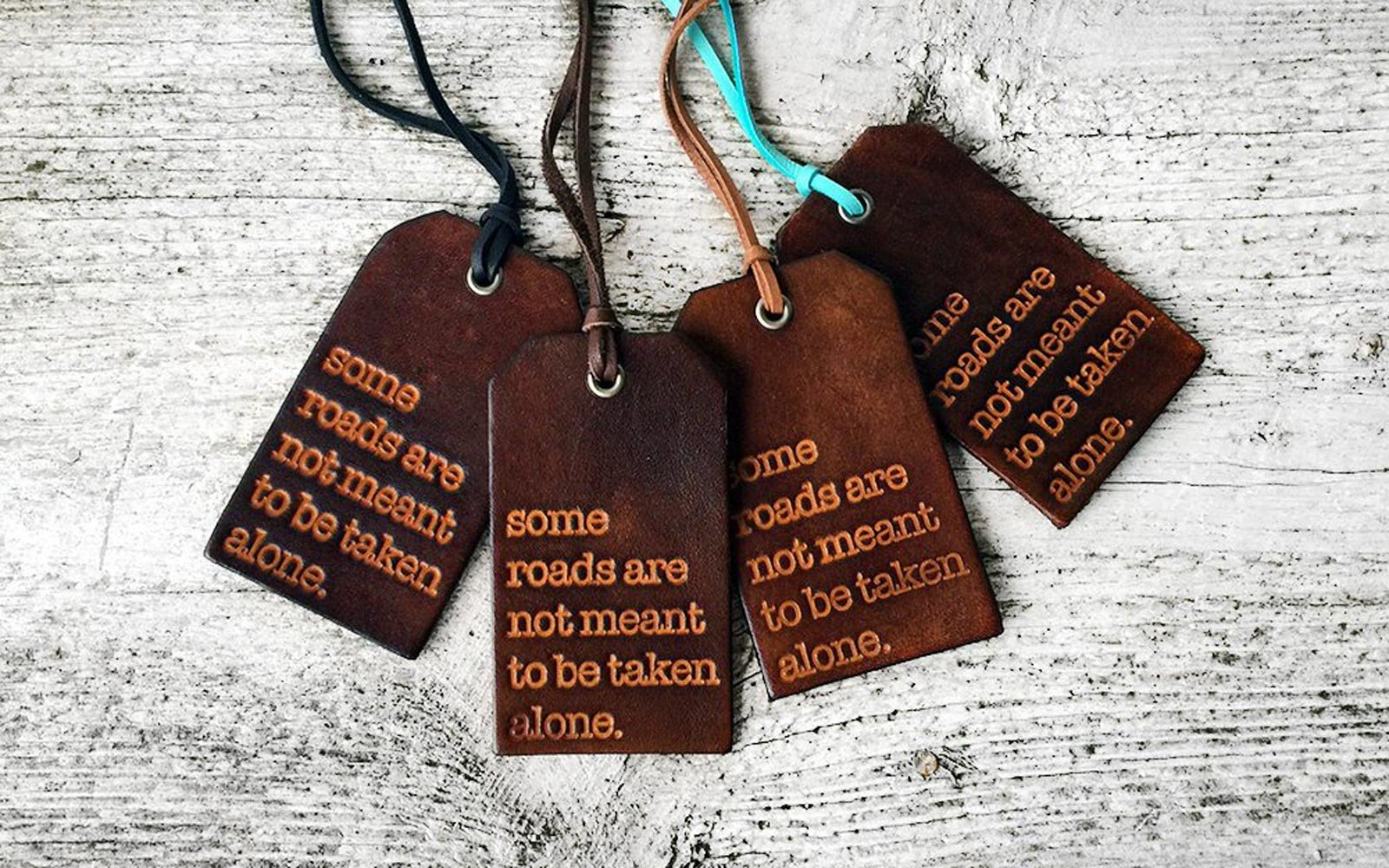 Etsy luggage tags