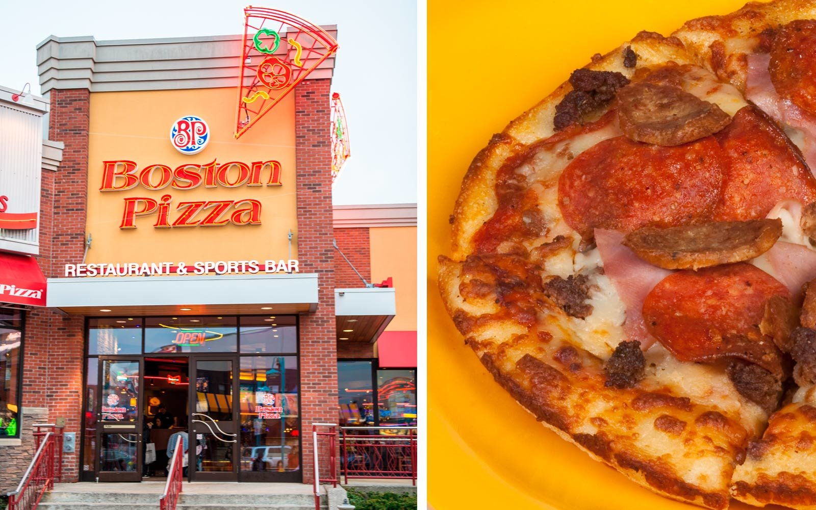 Boston Pizza, Canada