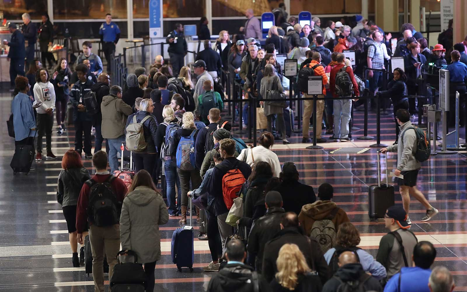 Avoid crowded security lines with these tips.