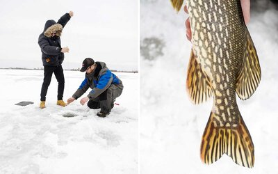 The Quintessential Minnesota Winter Experience? Ice Fishing