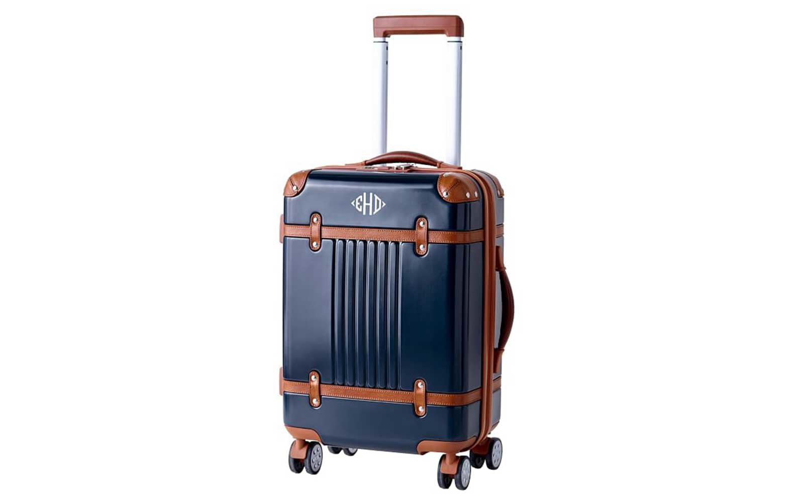Monogrammed suitcase from Mark & Graham