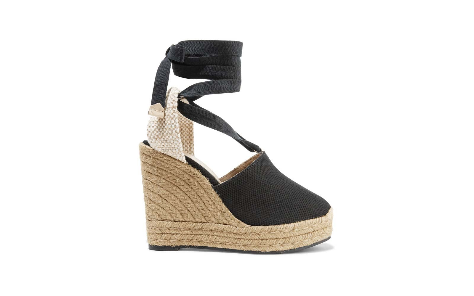 Nerea 120 canvas wedge espadrilles