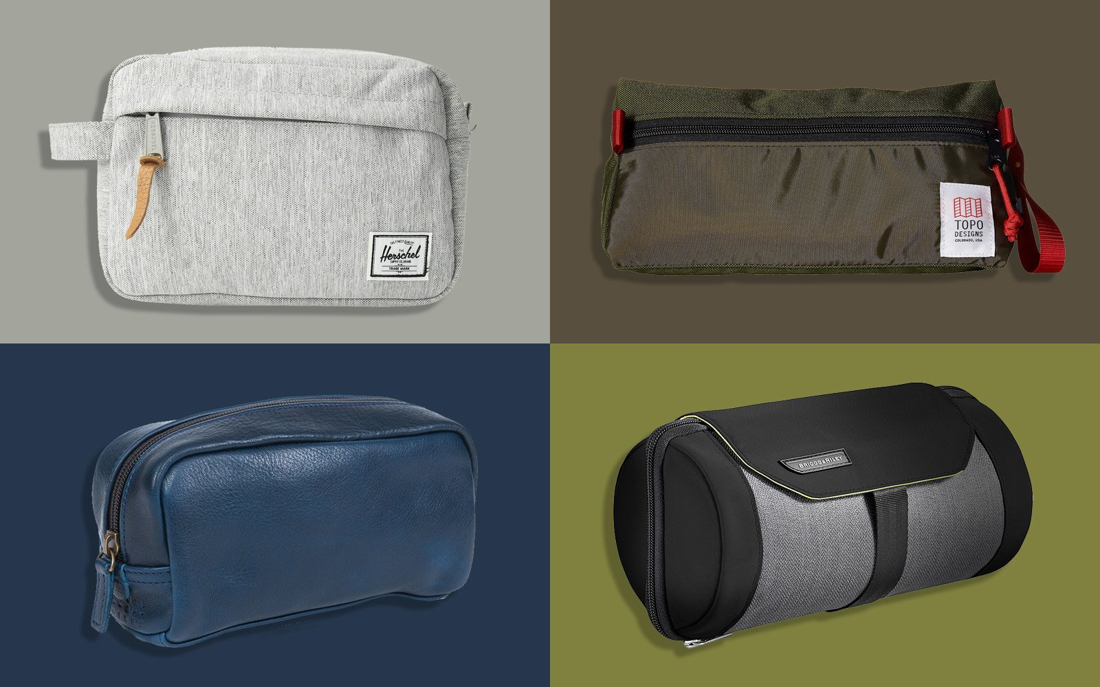 11a3fa796503 The Best Dopp Kits to Keep Your Toiletries Organized | Travel + Leisure