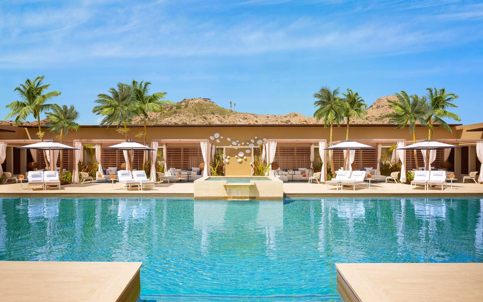 Pool at the Montage Los Cabos Hotel in Mexico
