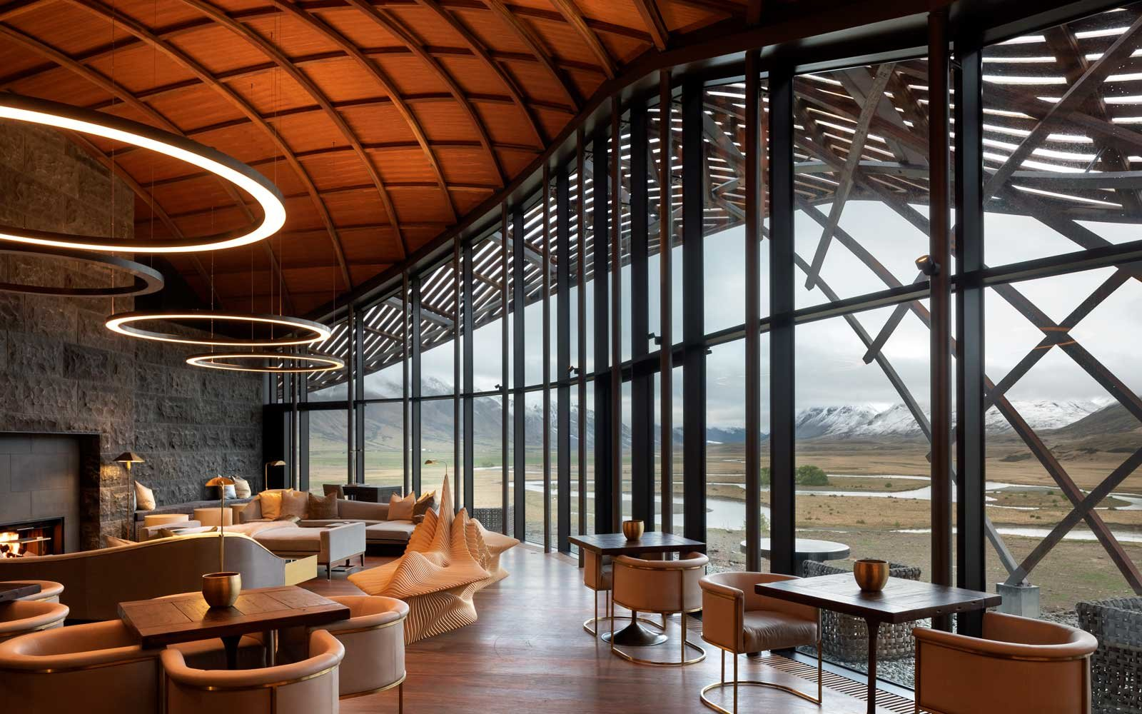 Lindis Lodge, in New Zealand