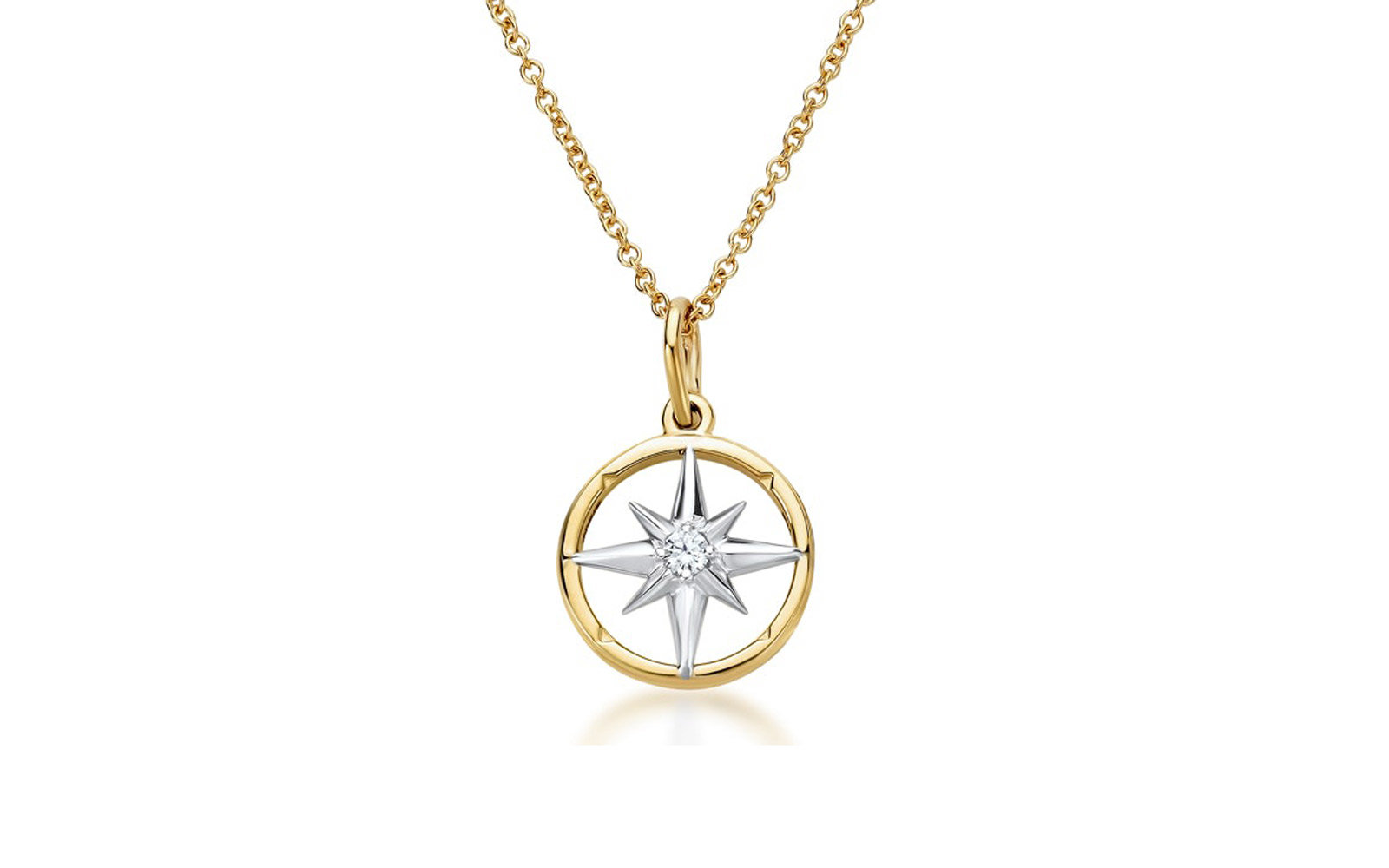 True North Collection Diamond Pendant