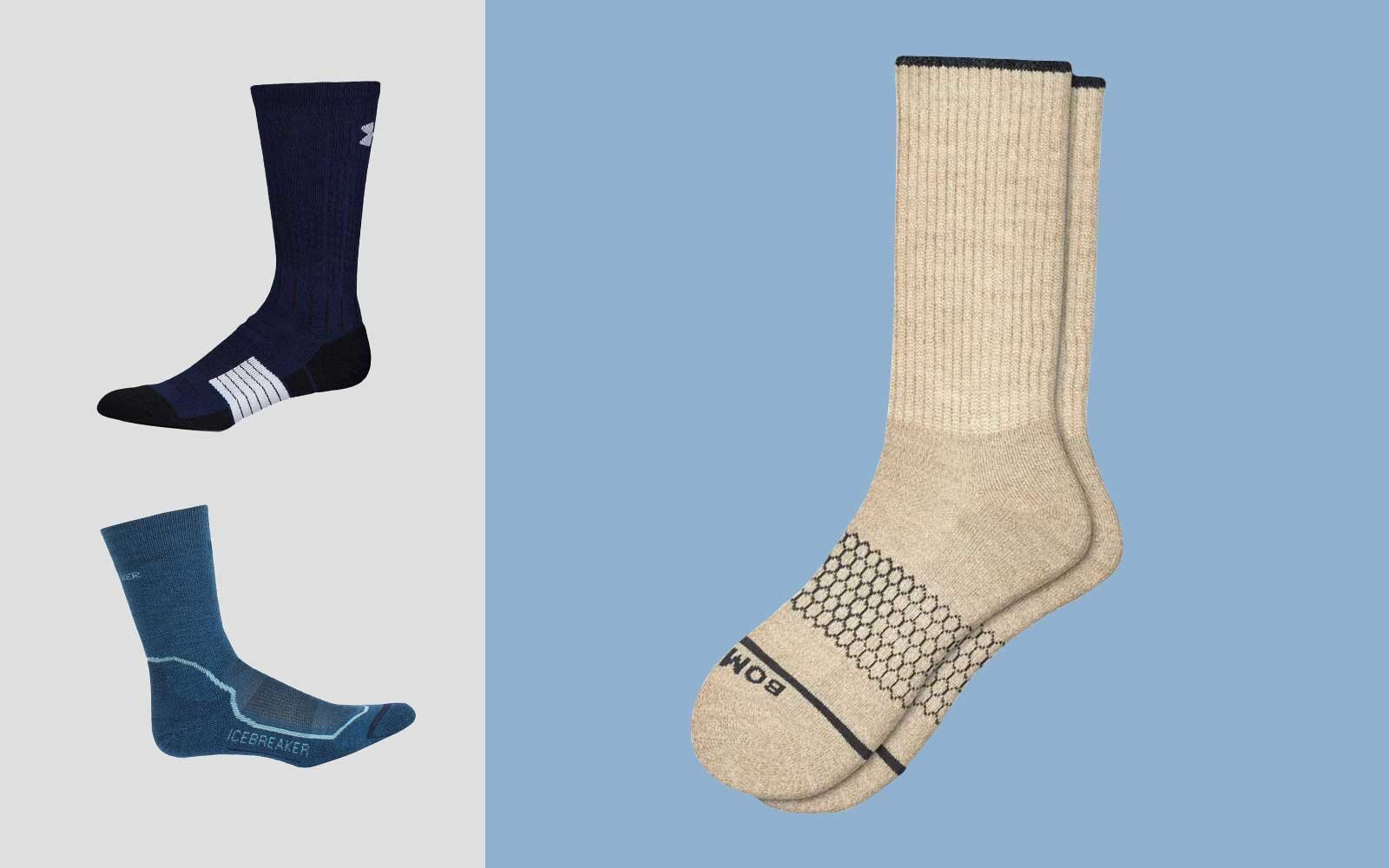 f48ce66310b59 The Best Warm Socks for Winter Travel | Travel + Leisure