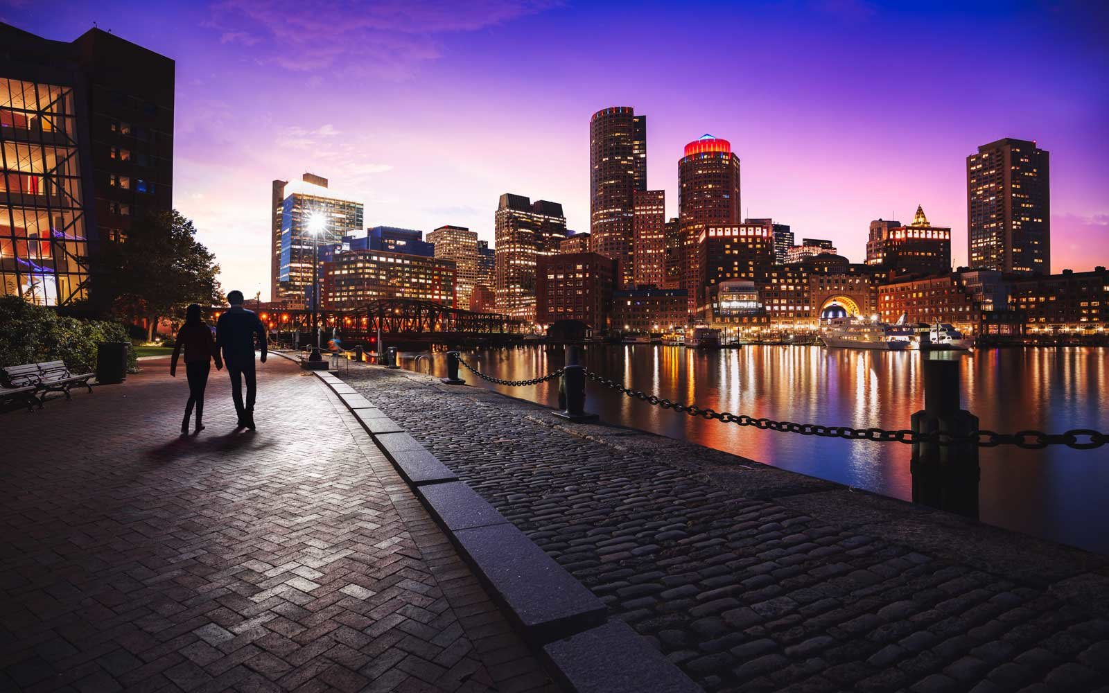 Boston's Logan International Airport is a short distance from its downtown and a variety of attractions.