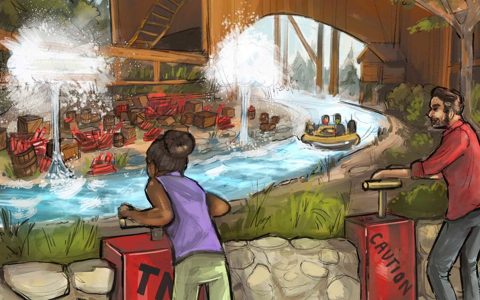 Calico River Rapids water ride coming to Knott's Berry Farm