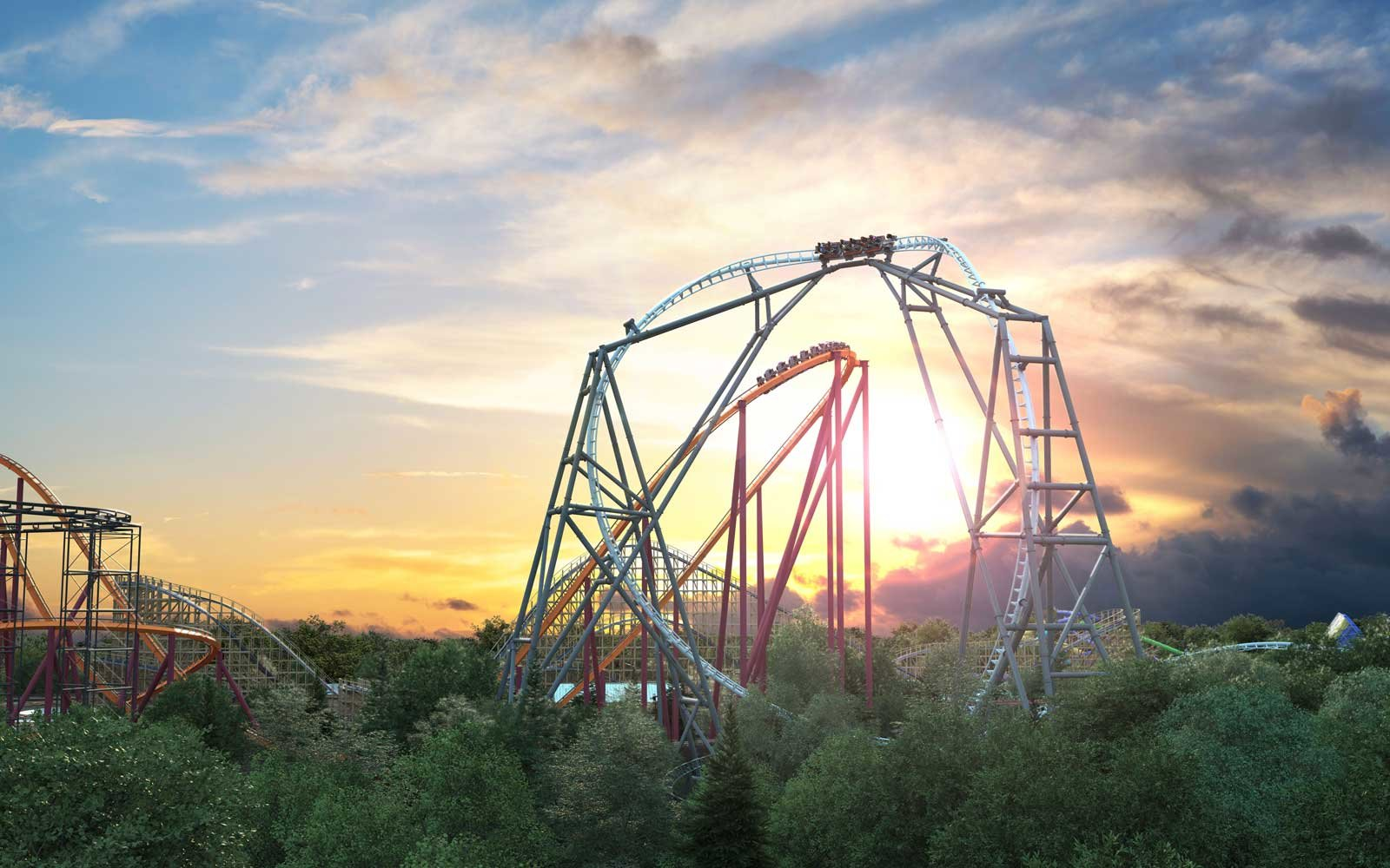 Maxx Force coaster coming to Six Flags Great America