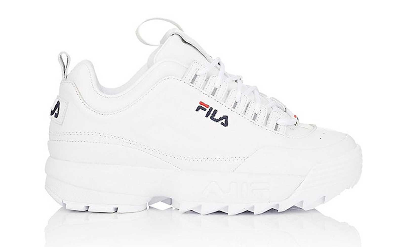White File Sneakers