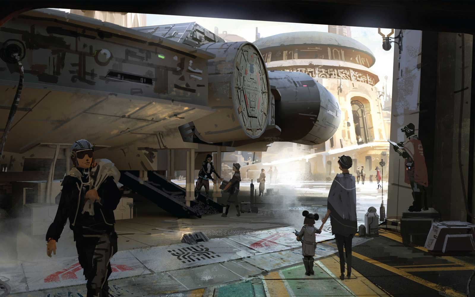 Star Wars-themed lands will be coming to Disneyland park in Anaheim, Calif., and Disney's Hollywood Studios in Orlando, Fla.